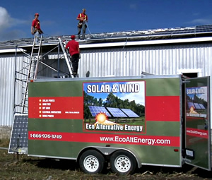 MicroFIT and FIT, feed in tariff programs are a specialty of  Eco Alternative Energy, Ontario