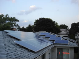 Micro FIT roof top solar project Thornhill Ontario