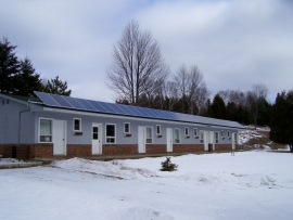 Commercial solar panel installation in Eastern Ontario - Sharbot Lake Eco Alternative Energy